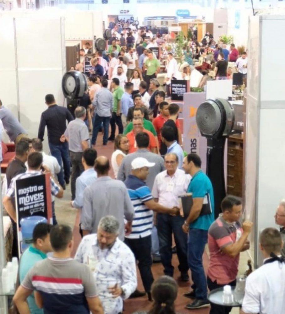 Expositores celebram visitação da Mostra de Móveis de Ubá