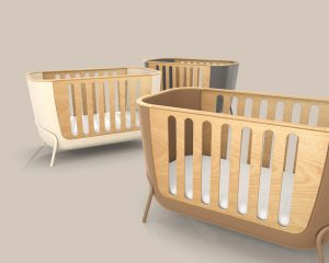 Berço Womb: projeto desenvolvido para unir tecnologia e design