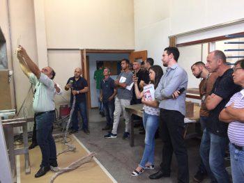 Arpiaspersul realizou inovações para pintura de móveis em workshop