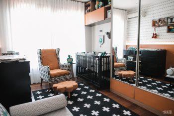 Ator Alexandre Nero escolhe móveis Divicar para o quarto dos filhos