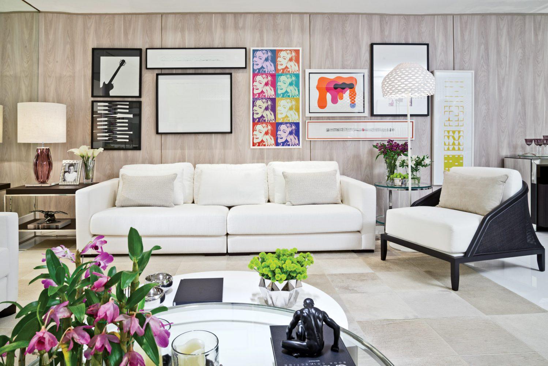 Toque especial para a decoração da sala de estar
