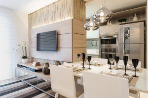 Mudanças no design podem ampliar espaços em apartamentos com metragens menores