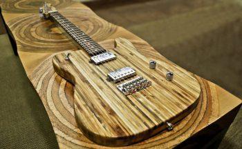 Brasileiro produz guitarra com madeira certificada pelo FSC