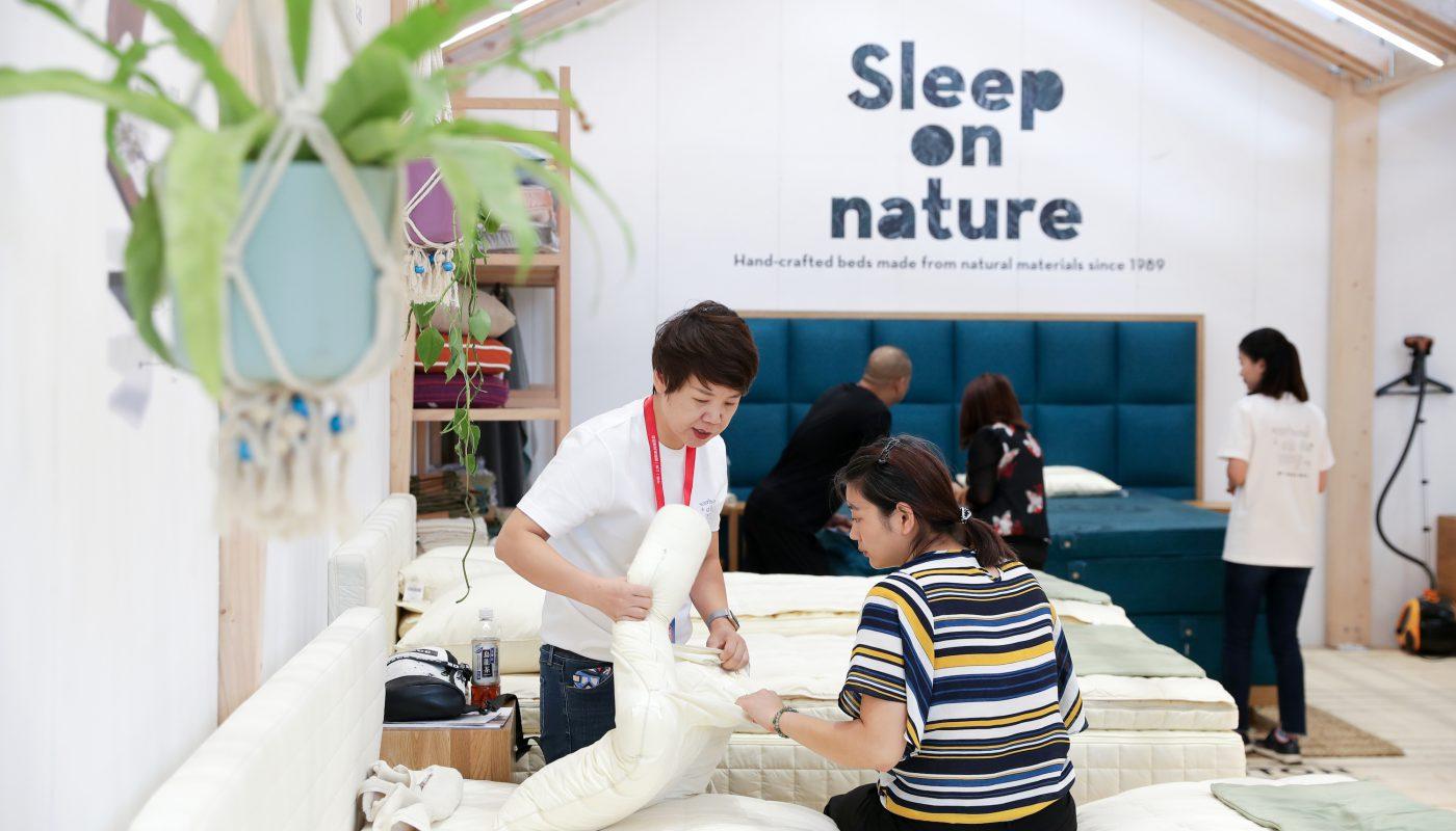 Ciff Guanghzou feira de móveis na China