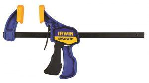 Irwin Ferramentas possui portfólio com diversos modelos de grampos para marceneiros